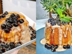 珍珠奶茶控必看!戚风蛋糕VS舒芙蕾鬆饼,最近很夯的珍珠奶茶甜点都在这!