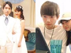 密恋「爱莉莎莎」两年!黄氏兄弟「哲哲」甜办婚礼 「球球」证实:我知道是真爱!